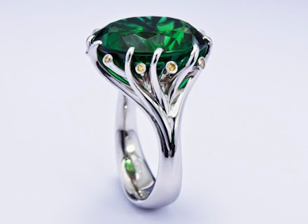 These emerald rings ought to ideally be produced out of platinum