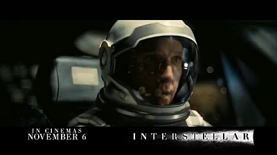Interstellar (Movie) - International (AU)  TV Spot - Song / Music