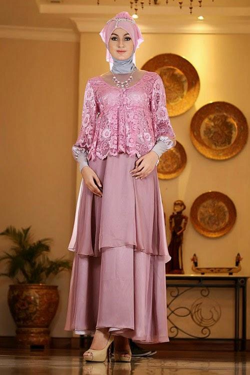 Model Baju Pesta Muslimah Tutorial Hijab Terbaru
