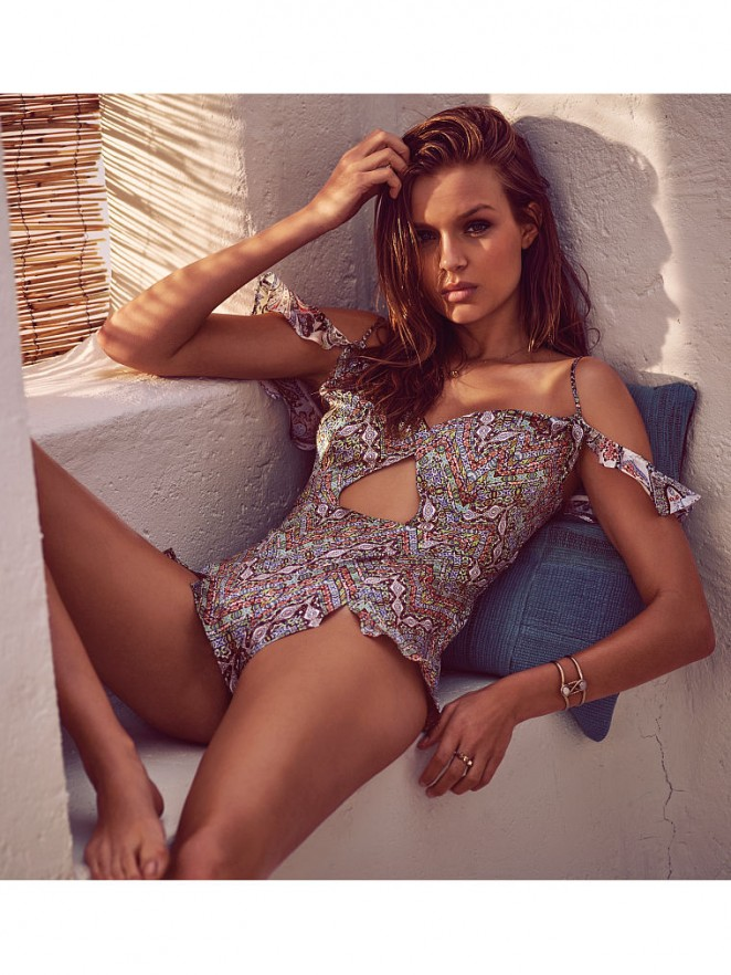 Victoria's Secret May Latest Lookbook featuring Josephine Skriver