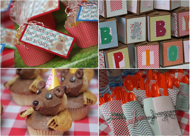 Teddy Bear's Picnic Baby Shower by Loryn Loves