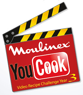 MOULINEX YOU COOK VIDEO RECIPE CHALLENGE YEAR 3