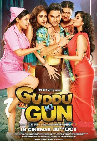 Watch Guddu Ki Gun (2015) DVDRip Hindi Full Movie Watch Online Free Download