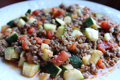 Mexican Beef And Zucchini Skillet Sandy 39 S Kitchen
