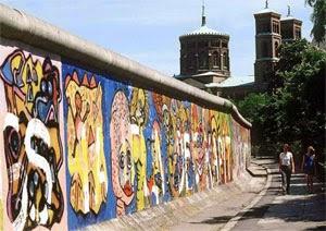 Berlin duvarı Berliner Mauer Utanç duvarı Schandmauer