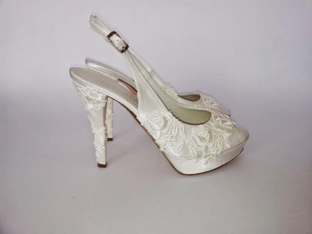 Zapatos de novia de coleccion