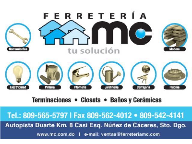 """FERRETERIA """"MC"""""""