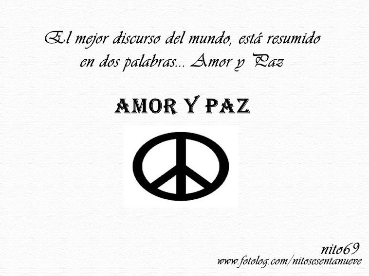 AMOR Y PAZ