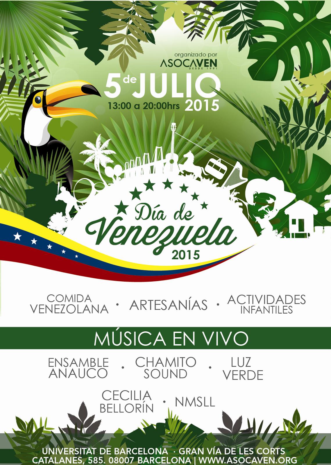 Día de Venezuela en Barcelona