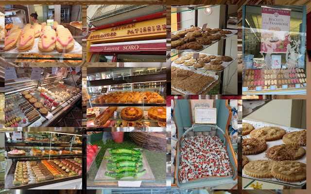 Candy, cookies, and pastries in Languedoc, France