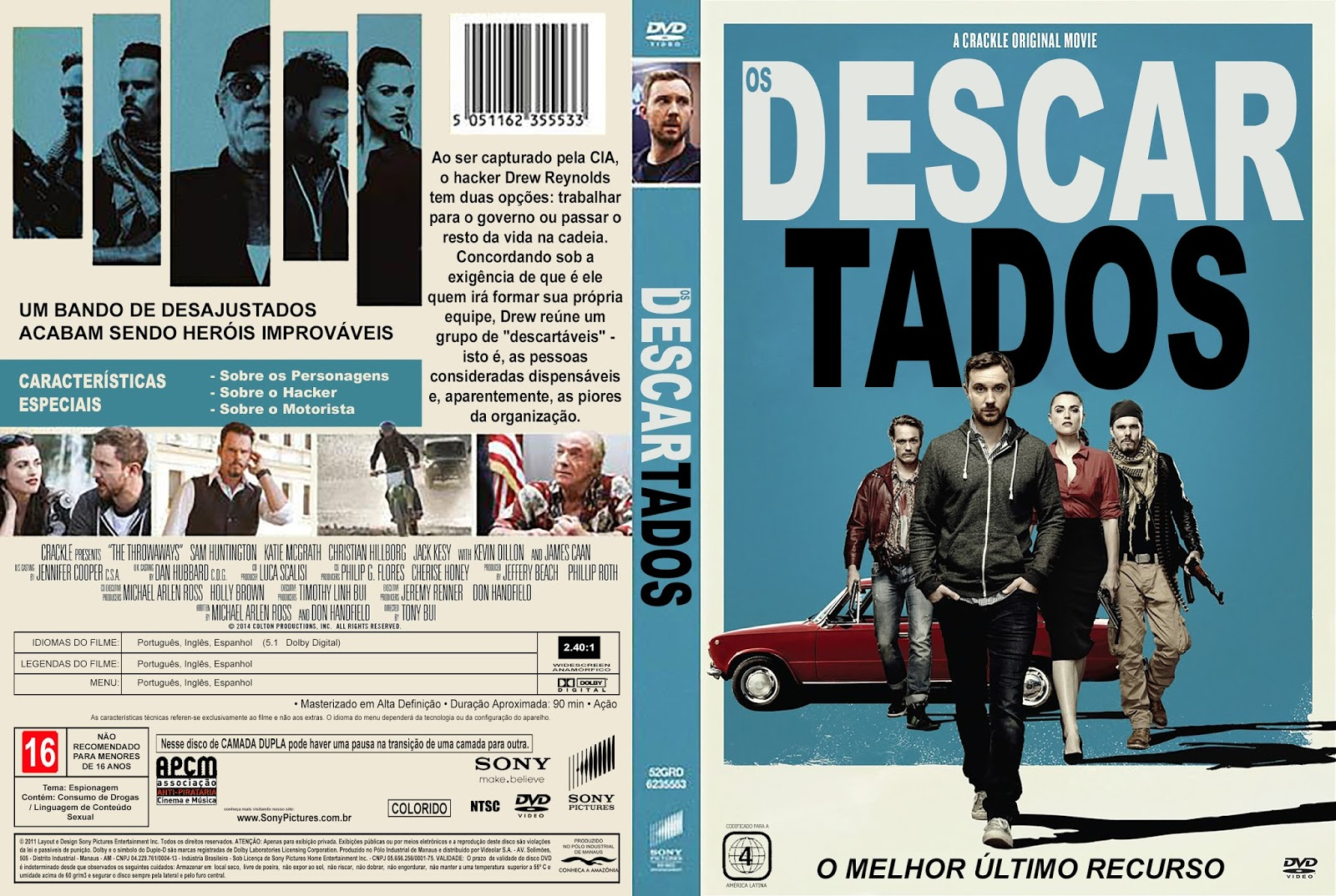 Download Os Descartados DVDRip XviD Dual Áudio Os 2BDescartados 2BXANDAODOWNLOAD