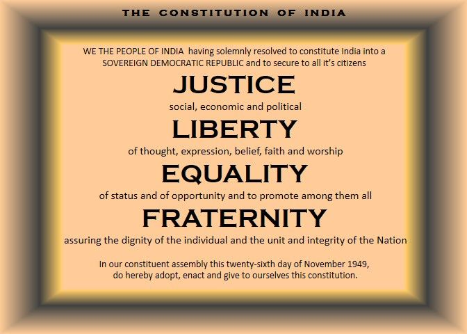 philosophy of the indian constitution Indian preamble and its importance, constitution and indian preamble,  out that those in power have not overlooked the philosophy underlying the constitution.