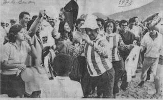 Festejos da Vitória do Independente Campeão ( Sá da Bandeira 1972)
