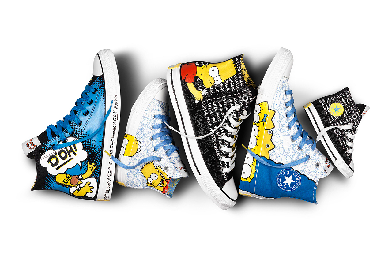 5d58e1a281ae The Simpsons x Converse Chuck Taylor All Star Collection ...