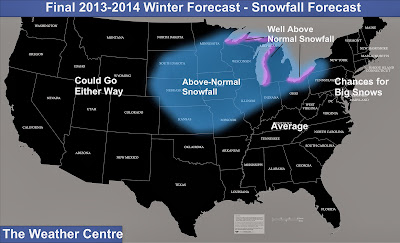 Today's Featured Post: December 4-8 Major Winter Storm