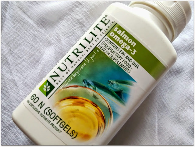Amway Nutrilite Salmon Omega3 : Benefits,Review