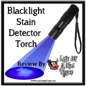 UV Sight's #1 Ultraviolet Blacklight Stain & Urine Detector Torch