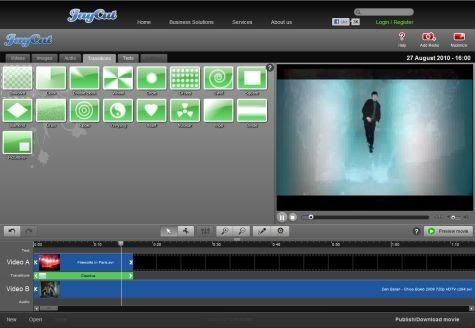Free Online Video Editor JayCut
