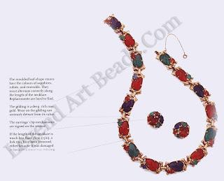 Fruit Salad Necklace & Earring Set