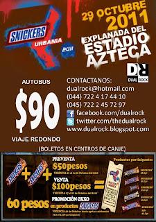 Transporte Toluca - Snickers Urbania 2011