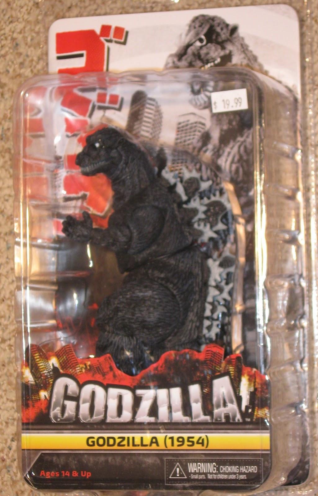 The Toyseum Godzilla 1954 Neca Godzilla Figure Review