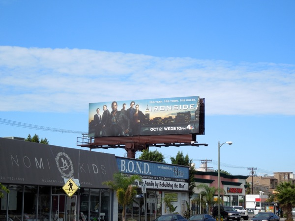 Ironside series premiere billboard