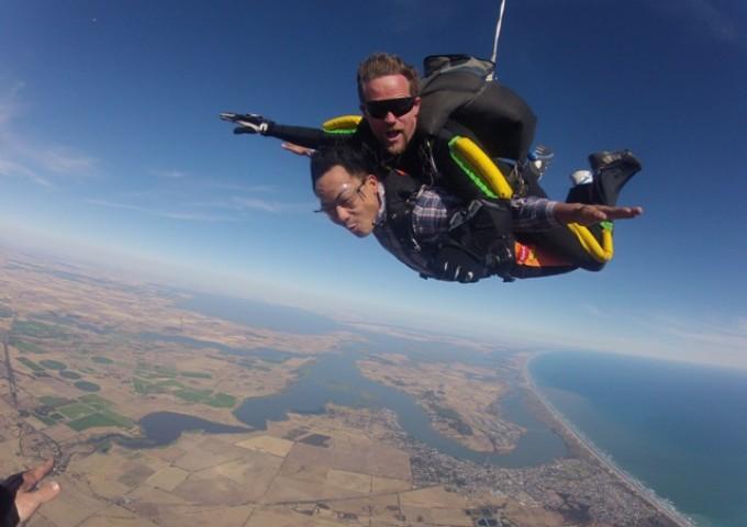 马来西亚也有Skydive跳伞活动了!Wanderlusters有福啦!