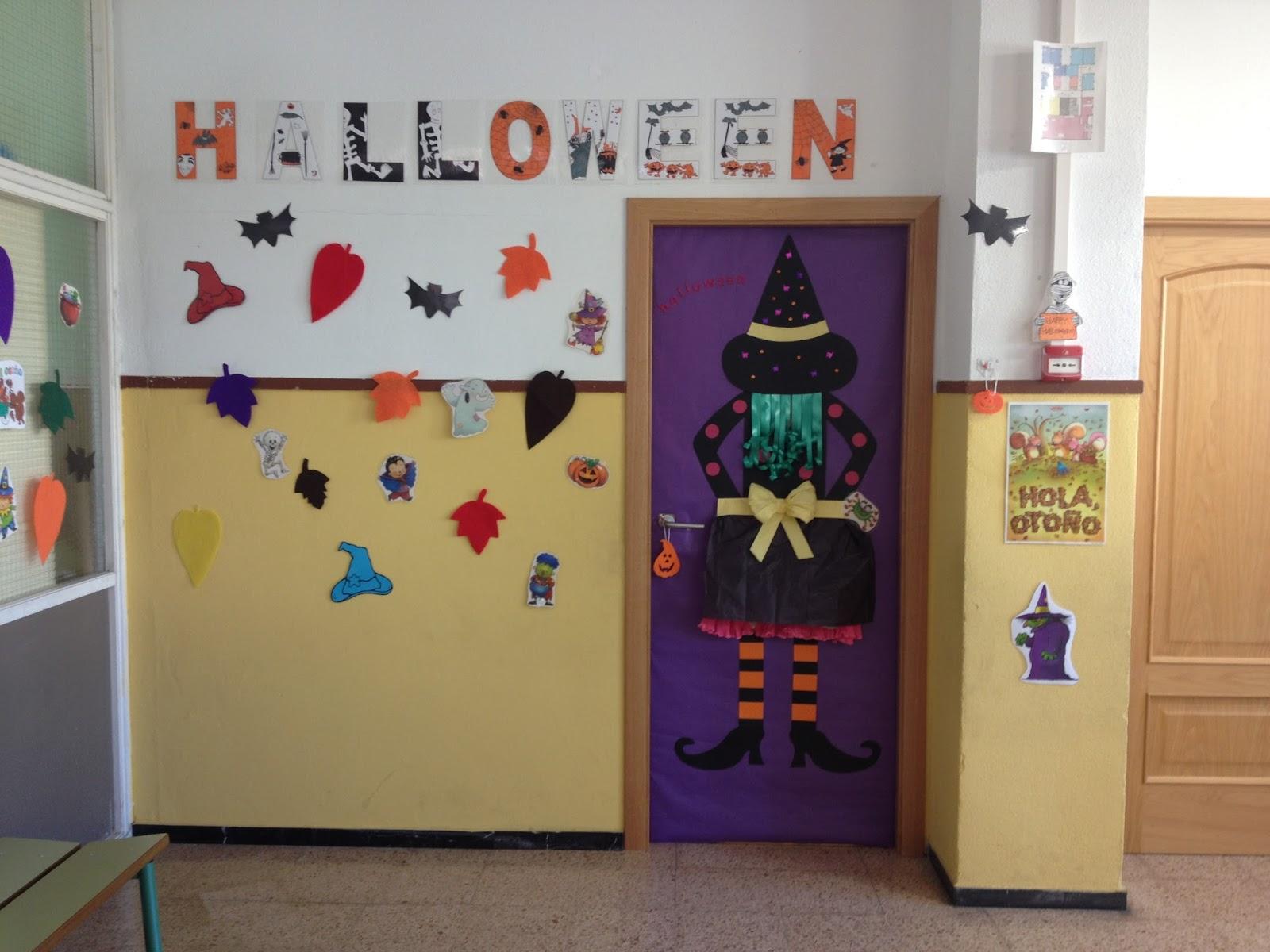 Purple cinnamon decoraci n para la puerta for Decoracion para puertas halloween