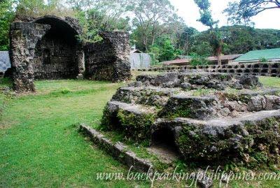 ruins of ermita cemetery dimiao bohol