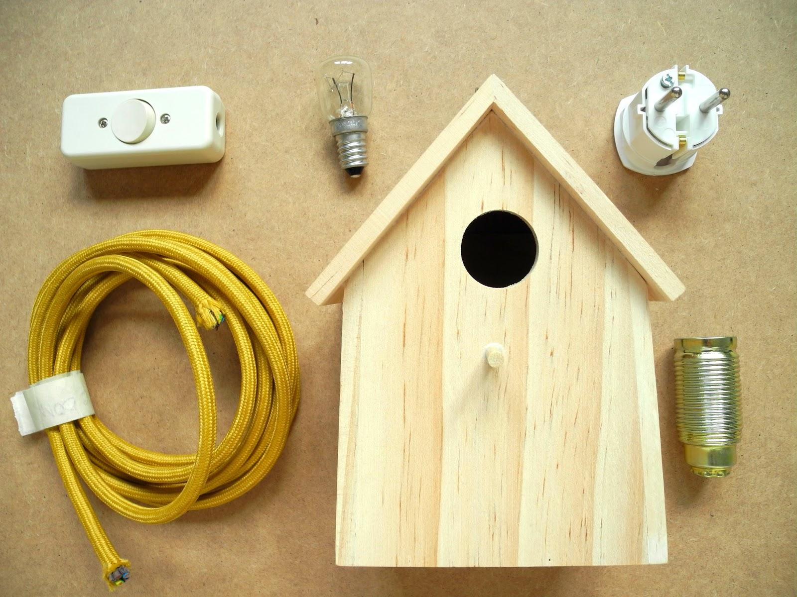 m l i m l o vogelhaus leuchte. Black Bedroom Furniture Sets. Home Design Ideas