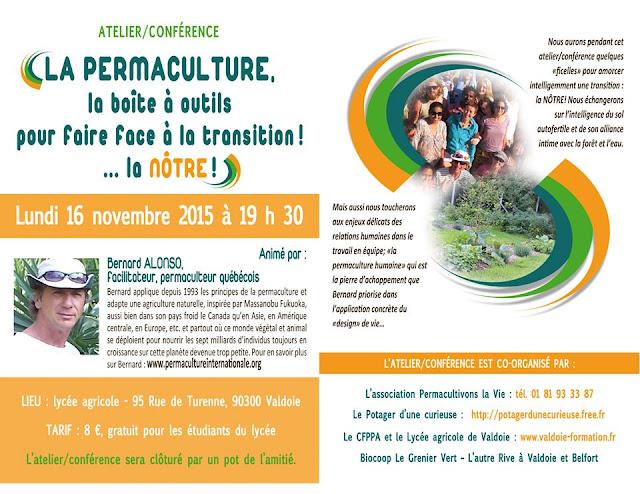 Colibris 25 baume les dames - La permaculture c est quoi ...