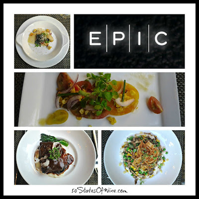 Epic Restaurant Chicago Food Collage