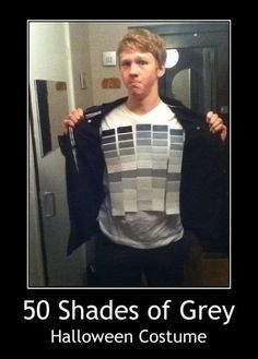 50 shades of grey halloween costume