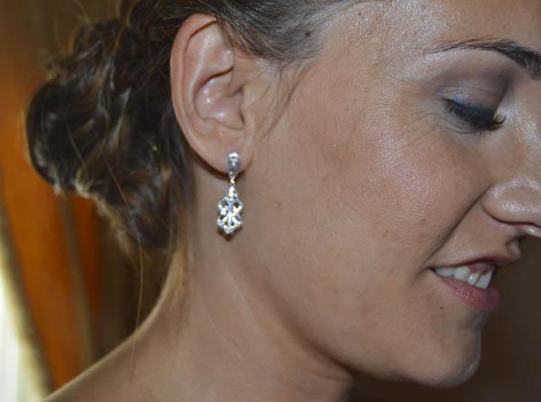 Maquillaje luminoso natural novia