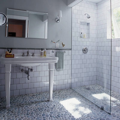 Bathroomfloorideas blogspot on small bathroom shower tile ideas