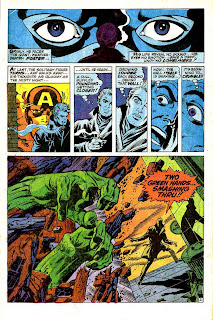 Captain America v1 #110 marvel comic book page art by Jim Steranko