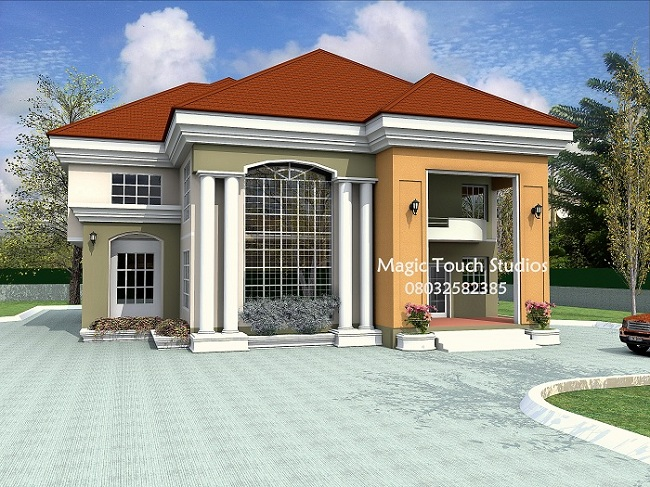 6 bedroom duplex New duplex designs