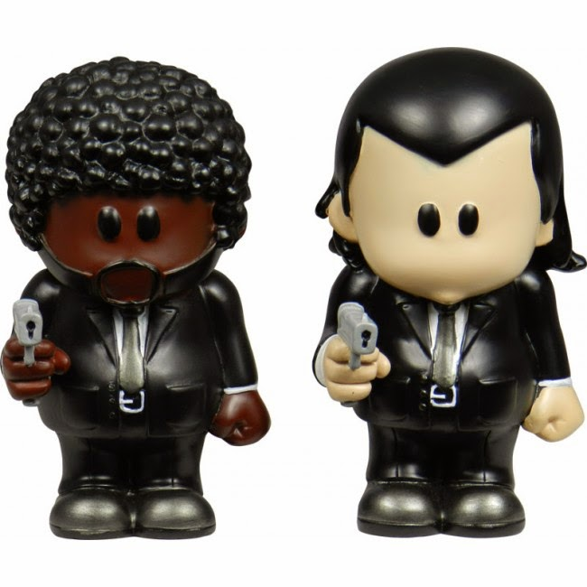 Figuras Jules y Vincent de Pulp Fiction