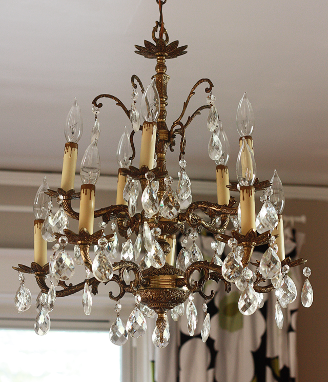 My new slash old chandelier mrs snow aunt peaches my new slash old chandelier mrs snow aloadofball Gallery