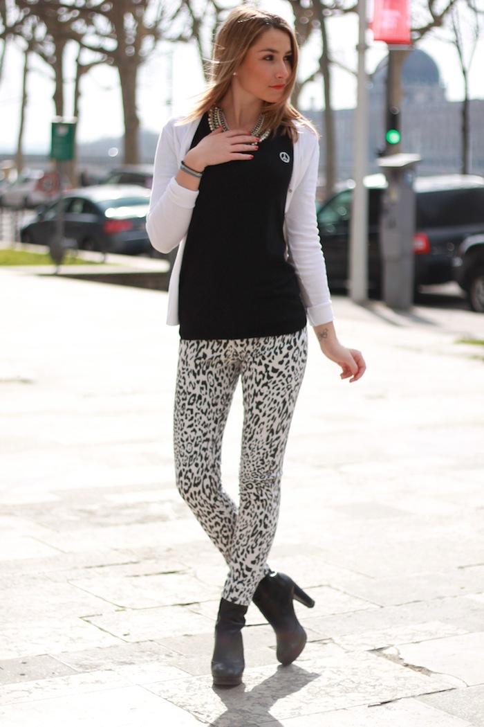 jeans imprimé léopard blog mode lyon