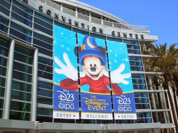 Disney D23 Expo 2013 Anaheim