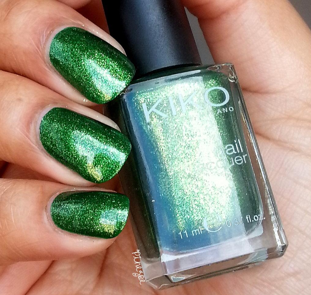 Kiko 533 - Pearly Golden Green