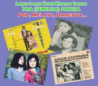 Kumpulan lagu dan Album Duet Rhoma Irama sebelum Soneta Lahir