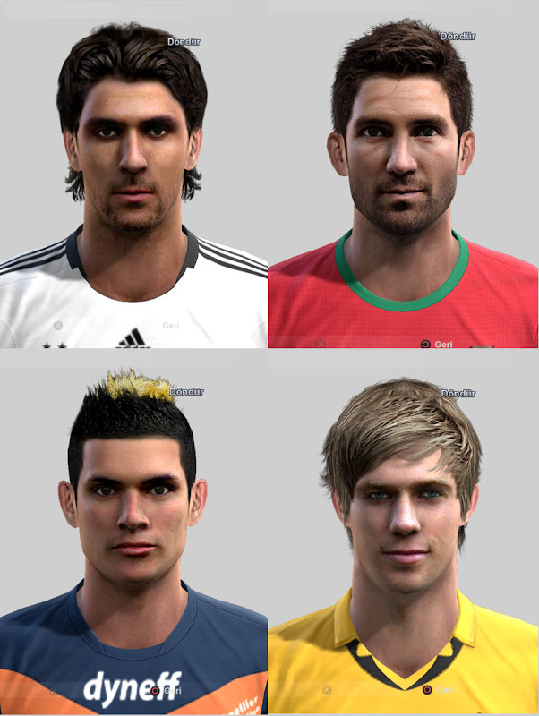 PES 2012 Facepack by ilhan