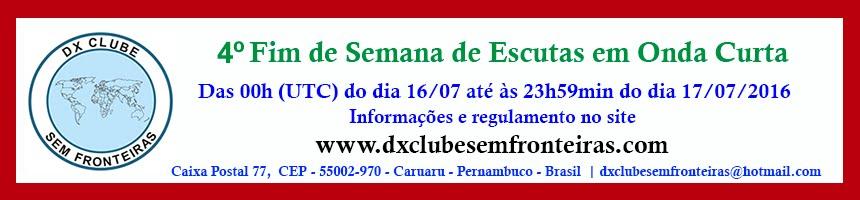 4º FIM DE SEMANA DE ESCUTAS EM ONDAS CURTAS