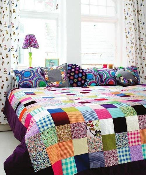 Arquitetura ene colchas de patchwork ou quilt - Colchas de patchwork modernas ...