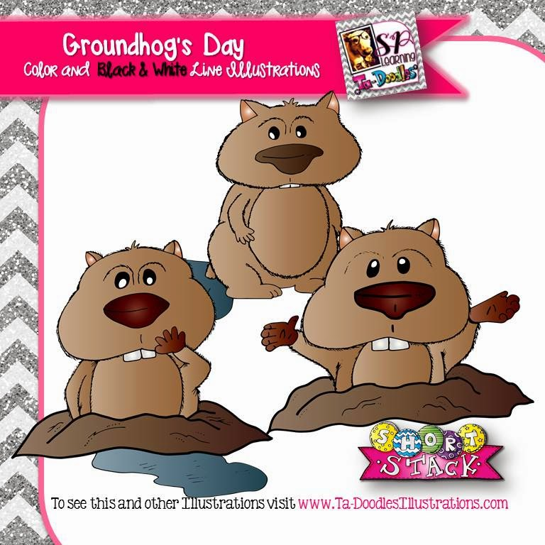http://www.teacherspayteachers.com/Product/Groundhogs-Day-Clip-Art-1655691