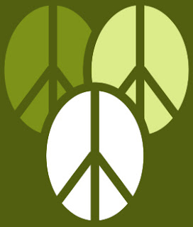 logo with 3 peace signs