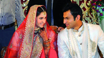 Sania Mirza weeding pictures