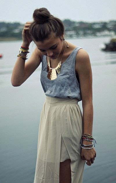 Fashion accessories necklace, bracelets, summer style fashion